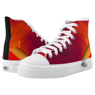 Light Fire Twirl Page Curl High Tops