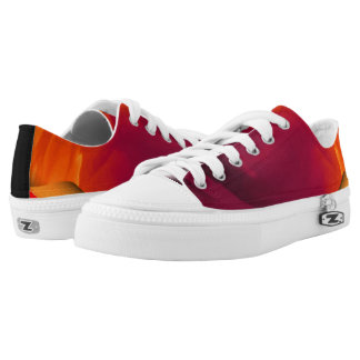 Light Fire Twirl Page Curl Low-Top Sneakers