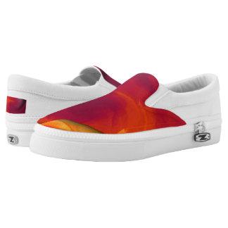 Light Fire Twirl Page Curl Slip-On Sneakers