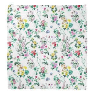 Light Floral Pattern Do-rag