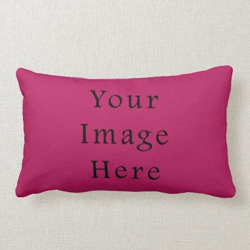 Light Fuchsia Purple Pink Color Trend Template Pillow