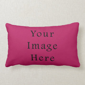 Light Fuchsia Purple Pink Color Trend Template Throw Pillows