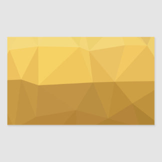 Light Goldenrod Abstract Low Polygon Background Sticker