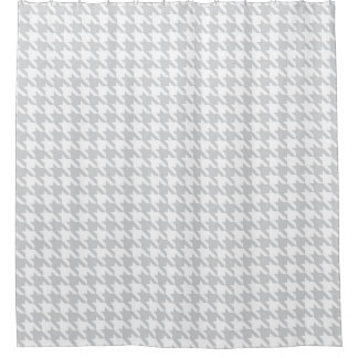 Light gray and White Houndstooth Pattern