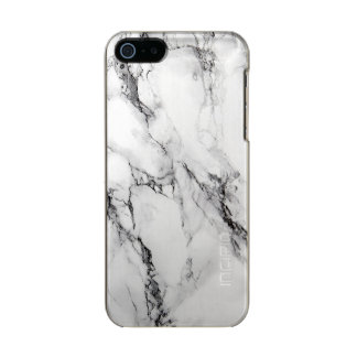 Light Gray And White Marble Stone Incipio Feather® Shine iPhone 5 Case