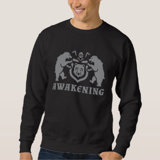 Light Gray Awakening Bears Sweatshirt