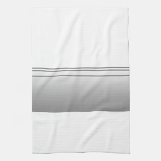 Light Gray. Elegant Design. Kitchen Towel