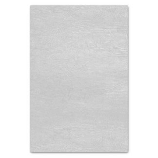 Light Gray Faux Leather Tissue Paper