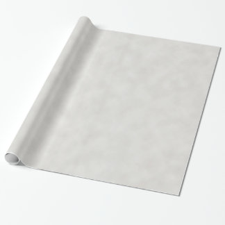 Light Gray Parchment Texture Background Wrapping Paper