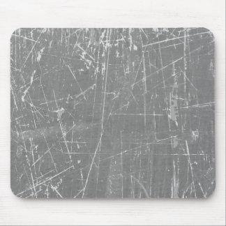 Light Gray Scratched Aged and Worn Texture Mousepads