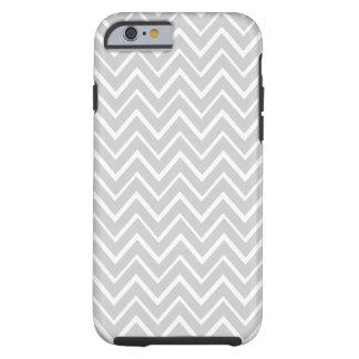 Light gray whimsical zigzag chevron pattern case