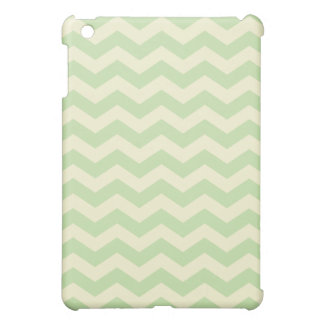 Light Green and Yellow Chevron Pattern iPad Mini Cover