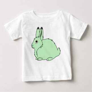 Light Green Arctic Hare Baby T-Shirt