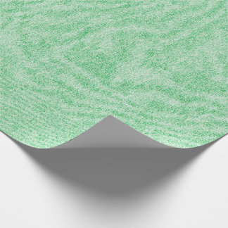 Light Green Denim Texture Wrapping Paper