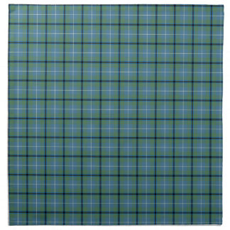Light Green Douglas Clan Ancient Tartan Napkin