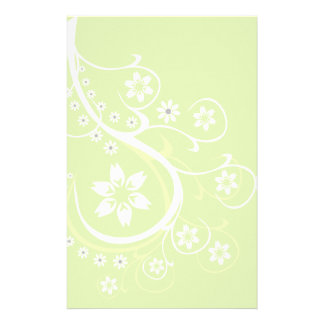 Light Green Dream Stationery-Floral Stationery