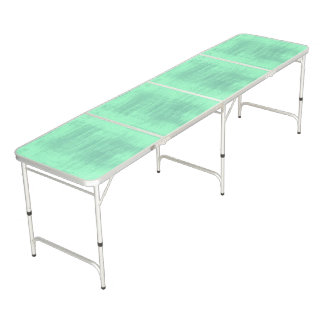 Light Green Gradient Texture Pattern Beer Pong Table