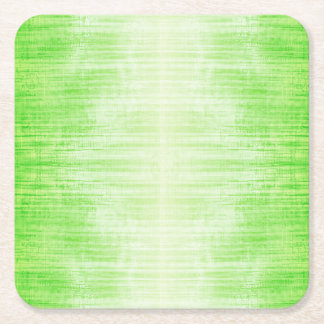 Light Green Gradient Texture Pattern Square Paper Coaster