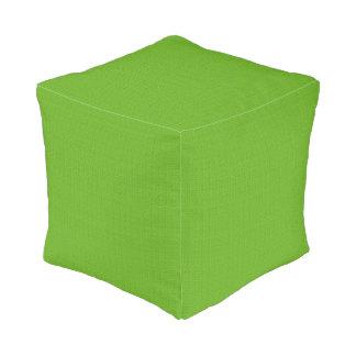 Light Green Textured Designer Cube Pillows