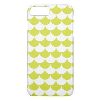 Light Green Waves Pattern Nautical iPhone 7 Plus Case