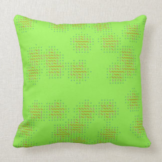 Light Green with Black Speckles Pillow
