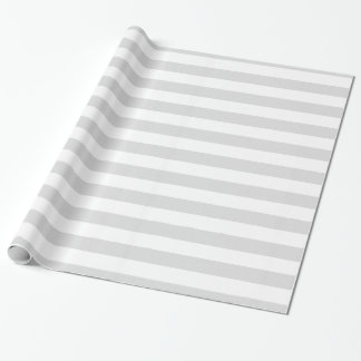 Light Grey and White XL Stripe Pattern