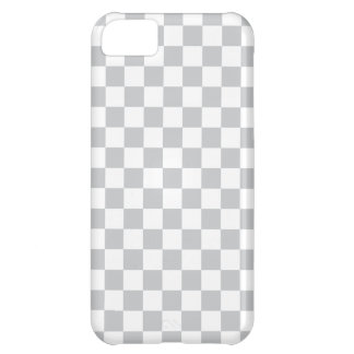 Light Grey Checkerboard Case-Mate iPhone Case