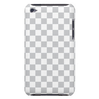 Light Grey Checkerboard Case-Mate iPod Touch Case