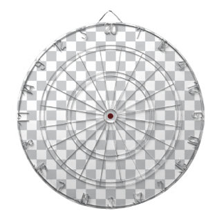 Light Grey Checkerboard Dartboard