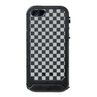 Light Grey Checkerboard Incipio ATLAS ID™ iPhone 5 Case