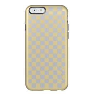 Light Grey Checkerboard Incipio Feather® Shine iPhone 6 Case