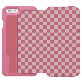 Light Grey Checkerboard Incipio Watson™ iPhone 6 Wallet Case