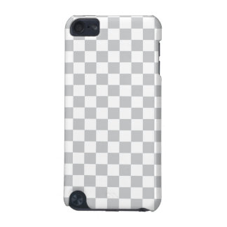 Light Grey Checkerboard iPod Touch (5th Generation) Cover