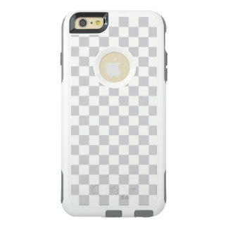 Light Grey Checkerboard OtterBox iPhone 6/6s Plus Case