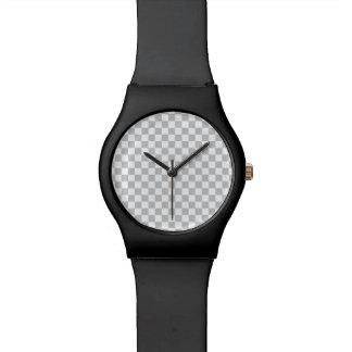 Light Grey Checkerboard Watches