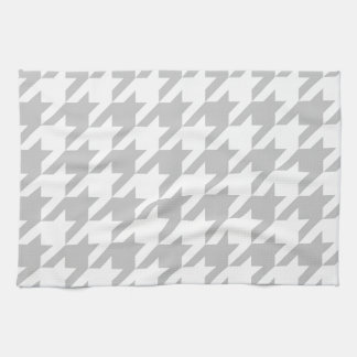 Light Grey Houndstooth Kitchen Towel