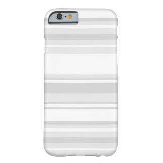 Light grey stripes barely there iPhone 6 case