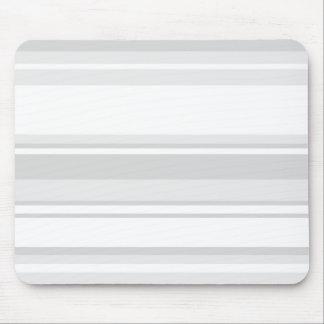 Light grey stripes mouse pad