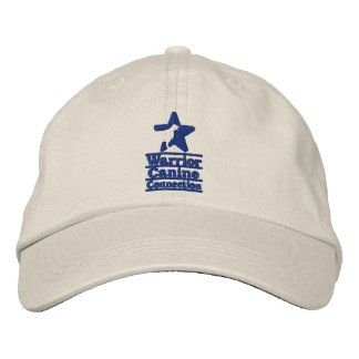 Light hat, navy WCC logo Embroidered Hat
