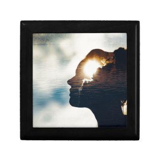 Light head gift box