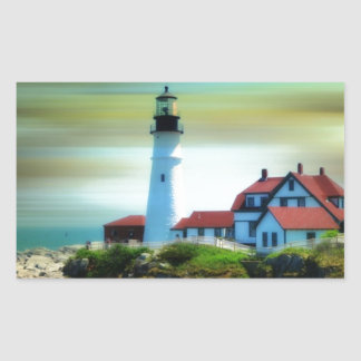 Light House Portland Headlight Sticker