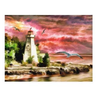 Light House Post Card