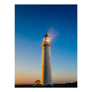 Light House Print Poster Artwork Mural