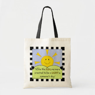 Light in Someone's Day-Sunshine Tote Bag