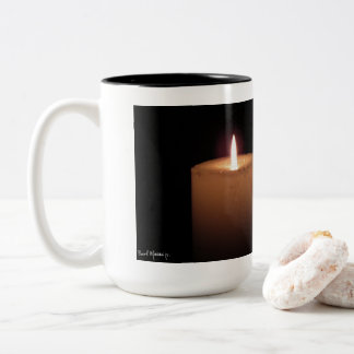 Light in the Darkness Two-Tone Coffee Mug