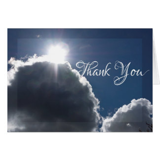 Light in the Storm Thank You Card