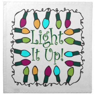 Light It Up Printed Napkin