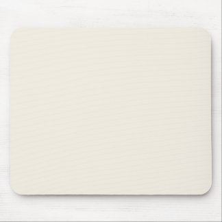 Light Ivory Beige Solid Trend Color Background Mouse Pad