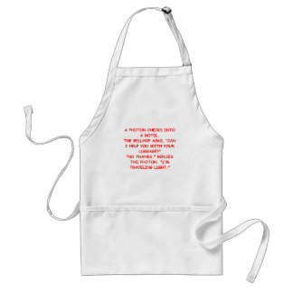 light joke standard apron
