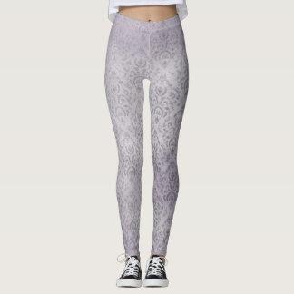 Light Lavender Art Leggings